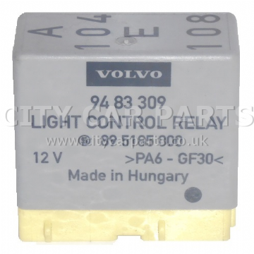 GENUINE VOLVO C70 S70 V70 XC70 LIGHT CONTROL RELAY 9483309 12V